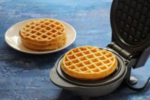 Home made waffle maker