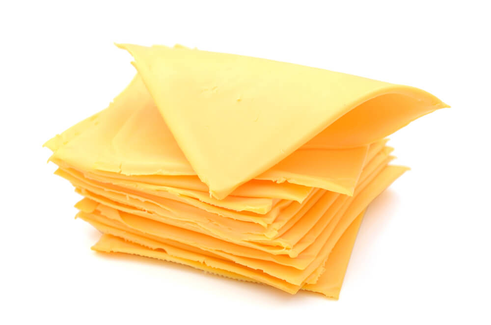 A Pile of American Cheese