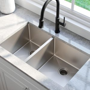 Kraus Standard Double Bowl Kitchen Sink