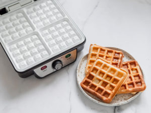 Square Belgian Waffle Maker