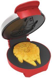 Starwars Falcom Red Waffle Maker