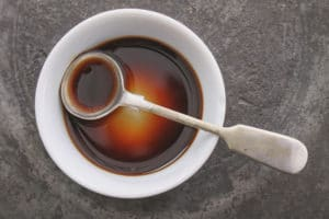 Worcestershire Sauce in a Bowl