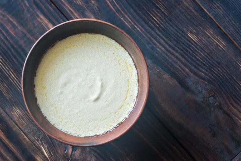 A Bowl of Alfredo Sauce