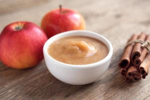 A bowl of Apple Sauce