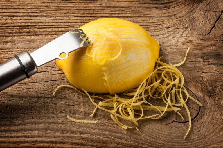 Lemon Zesting