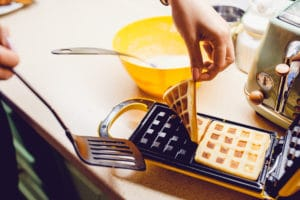 Keep Waffles from sticking