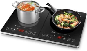AMZCHEF Double Induction Cooktop