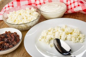 Dry and Creamed Cottage Cheeses