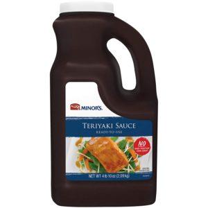 Minor's Teriyaki Sauce (4 lb. 9.6 oz Bottle)
