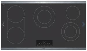 Bosch Cooktop Electric Net8668suc Benchmark Series 36