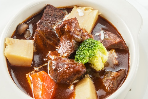 Beef Stock Powder as Au Jus Substitute