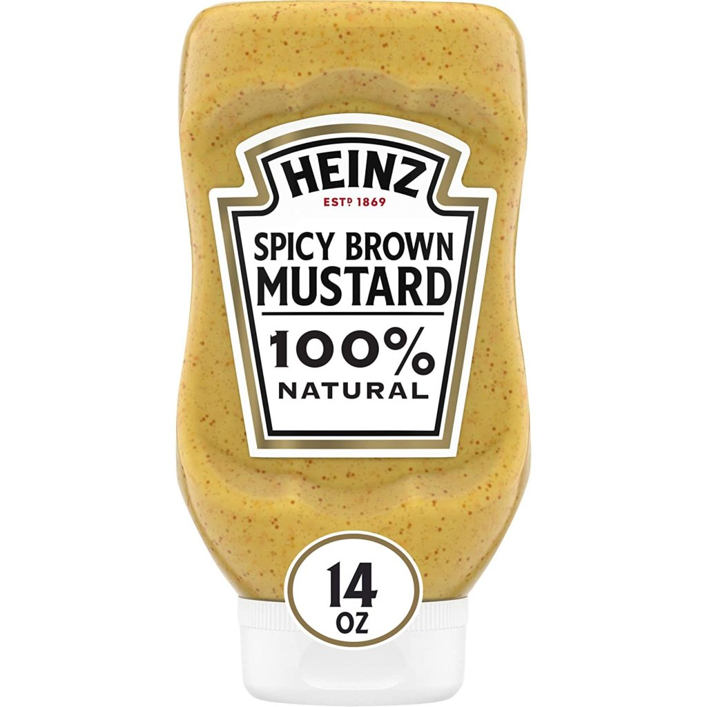 Spicy Brown Mustard as creole mustard substitute