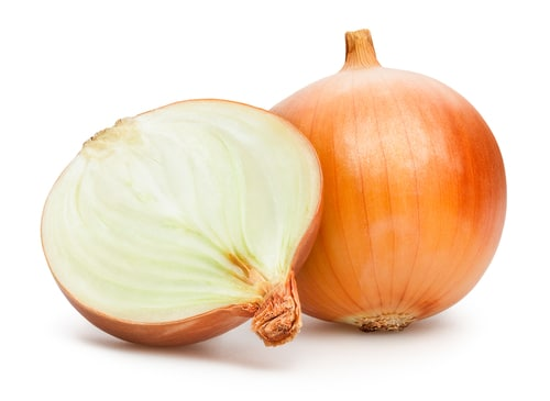 Yellow Onions is the best scallion substitute