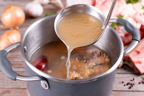 Beef stock is an excellent msg alternative