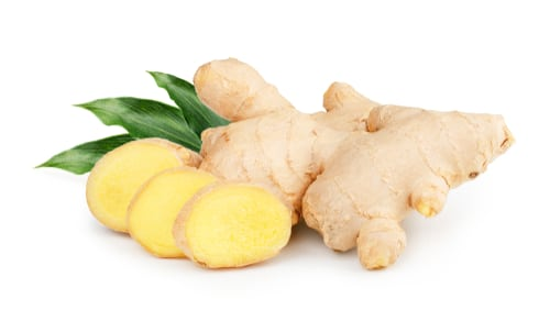 Ginger can be used as turmeric substitute