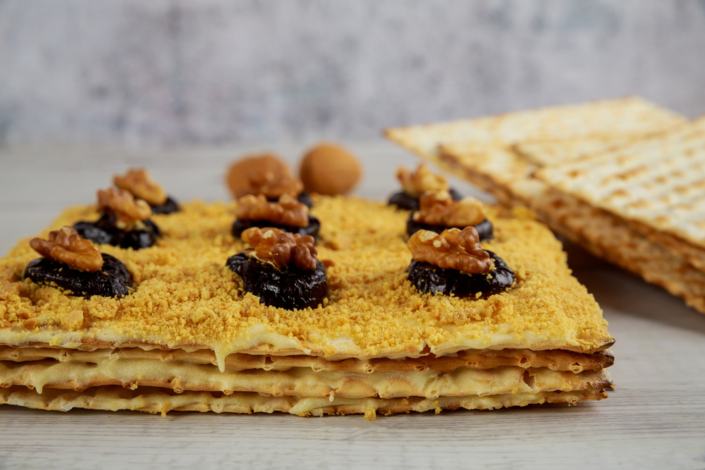 Matzo cake meal can be used as matzo meal replacement