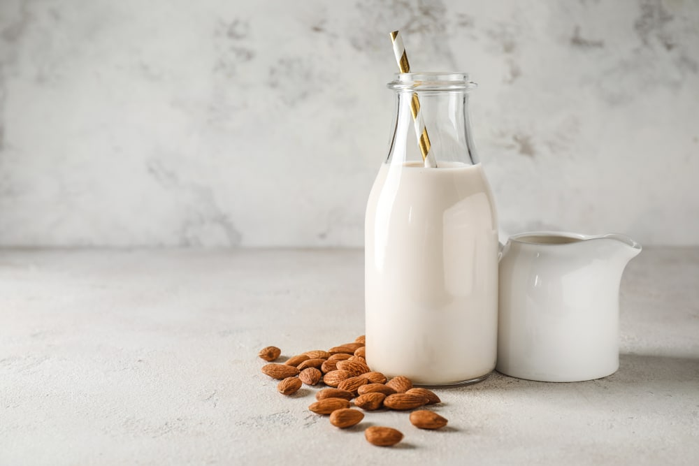 Plant-Based Milk is another substitute for dry milk