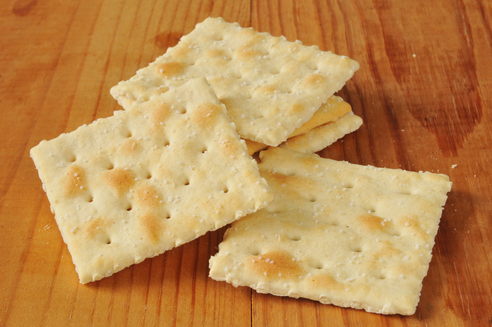 Saltline Crackers as Matzo Meal Substitute